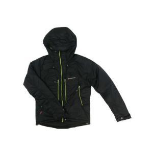 モンテイン MONTANE モンテイン FLUX JACKET  軽量で暖かい中綿 フラックスジャケット ブラック gaku-shop