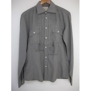 MASON'S(メイソンズ) イタリア製  メイソンズからこだわりのピンタックシャツ|gaku-shop
