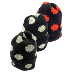 HIGHLAND2000 ハイランド2000  British Wool Dot Bob WATCH CAP