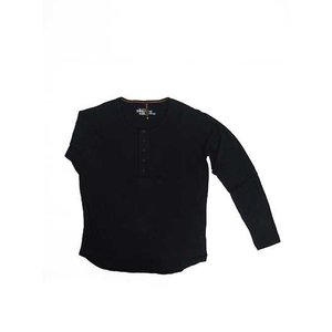 Nudie Jeans(ヌーディージーンズ) 35161-4005 ORGANIC LS HENLEY T-SHIRT 長袖ヘンリーネックT|gaku-shop