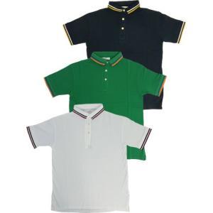 スタイルエディション Style Addition 配色ライン入り 上質素材ベア鹿の子ポロシャツ Made in Japan |gaku-shop