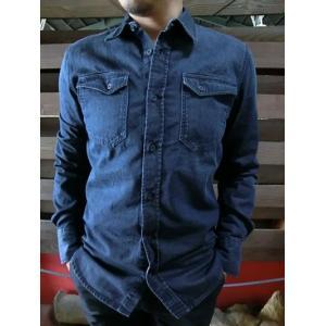 Nudie Jeans(ヌーディージーンズ) 36161-3004 GUNNAR グンナール DARKER SHADE DENIM Made in Portugal|gaku-shop