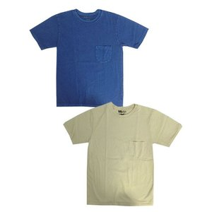 Mixta ミクスタ MXA-100  ポケ付きクルーネックTシャツ ウォッシュド加工  Made in USA|gaku-shop