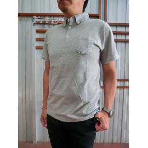 グッドオン GOOD ON グッドオン USA製 半袖ボタンダウンポロTシャツ METAL メタル|gaku-shop