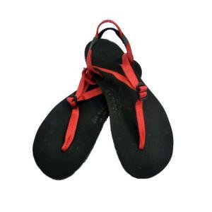 bedrock  BEDROCK SANDAL  旅のお供に ハイキング ランニングOK ベッドロック  USA製サンダル RED|gaku-shop