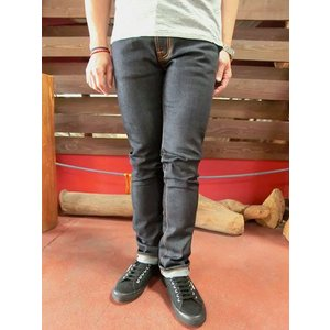 Nudie Jeans(ヌーディージーンズ) ヌーディージーンズ 39161-1026 TAPE TED テープテッド オーガニックデニム Dips Dry MADE IN ITALY|gaku-shop