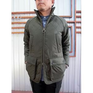 Barbour(バーブァー) Barbour バブアー POLAR QUILT SL ポーラキルトスリムジャケット OLIVE|gaku-shop