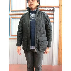 Barbour(バーブァー) Barbour バブアー POLAR QUILT SL ポーラキルトスリムジャケット BLACK|gaku-shop