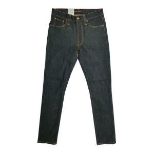 Nudie Jeans(ヌーディージーンズ) Nudie Jeans 43161-1164 LEAN DEAN リーンディーン DRY DEEP NAVY|gaku-shop