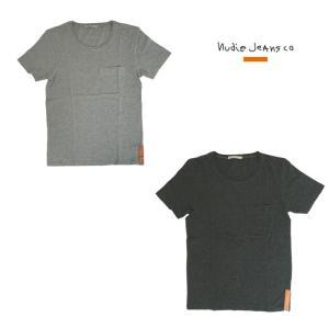 Nudie Jeans(ヌーディージーンズ) Nudie Jeans(ヌーディージーンズ)43161-4002 POCKET TEE|gaku-shop