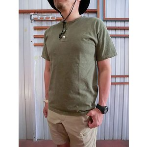 グッドオン GOOD ON(グッドオン) S/S HENLEY TEE ショートスリーブヘンリーネックTシャツ|gaku-shop
