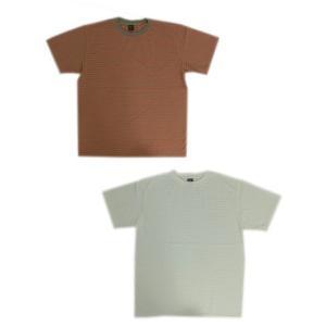 グッドオン GOOD ON グッドオン 半袖Tシャツ 細ボーダーTシャツ BORDER TSHIRTS|gaku-shop