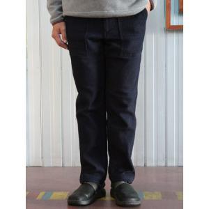 FOB FACTORY(FOBファクトリー) F0441 インディゴ染めウールコットンベイカーパンツ インディゴ gaku-shop
