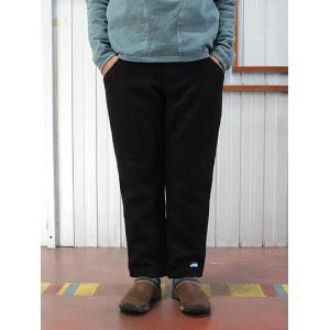KAVU KAVU(カブ)ウールバラードパンツ あたたかなリラックスパンツ Black |gaku-shop