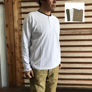 グッドオン GOOD ON(グッドオン) L/S HENLEY TEE ロングスリーブヘンリーネックTシャツ|gaku-shop