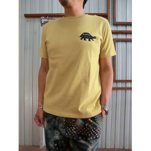 KAVU KAVU (カブー) タートルTシャツ White Grey Navy Mustard|gaku-shop
