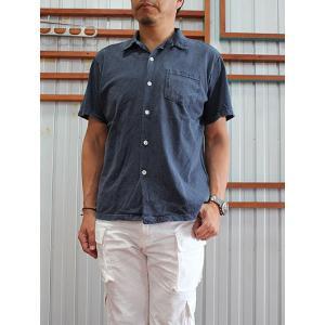 グッドオン GOOD ON(グッドオン) S/S OPEN TEE SHIRTS 半袖オープンTシャツ P-CHOCO P-NAVY|gaku-shop