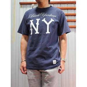 SUNNY SPORTS(サニースポーツ) SUNNY SPORTS(サニースポーツ)NLBM BY TEE コラボTシャツ White Navy|gaku-shop
