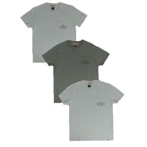CALIFORNIA USA製 コスパ最高 ポケット付きプリントTシャツ White Grey|gaku-shop