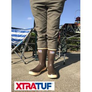 XTRATUF xtratuf エクストラタフ  フィールドで活躍 レインシューズ  12インチ|gaku-shop
