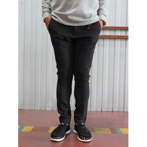 グラミチ Gramicci(グラミチ) GMP-17F009 4WAY ST SLIM PANTS ストレッチスリムパンツ Black|gaku-shop