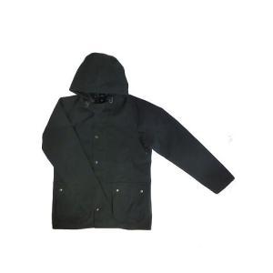 Barbour(バーブァー) バブアー MCA0440フーデッド2レイヤーナイロン ビデイルSLジャケット Black|gaku-shop