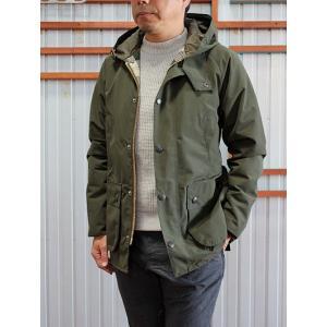 Barbour(バーブァー) バブアー MCA0440フーデッド2レイヤーナイロン ビデイルSLジャケット Olive|gaku-shop