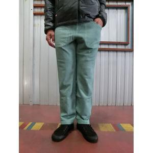 グッドオン GOOD ON グッドオン  HEAVY SWEAT PANTS SLIM FIT   P-SMOKEY GREEN|gaku-shop