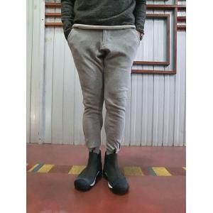 グラミチ Gramicci (グラミチ)GUP014 SWEAT NARROW RIB PANTS   Heather Grey|gaku-shop