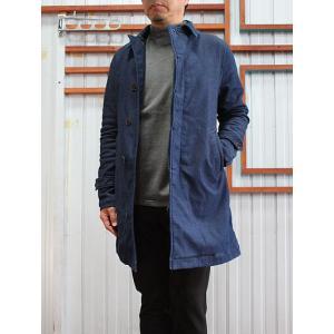 F.O.B(エフオービー) FOB FACTORY F2326 デニム2重織 トレンチコート 日本製 デニムWA gaku-shop