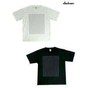 Jackman ジャックマン【SALE】 JM5933 アメリカコットン ストライププリントTシャツ...