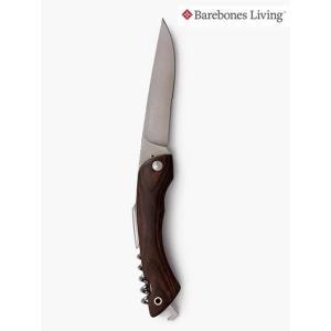 Barebones Living ベアボーンズリビングから4インチの半波歯状の刃の付いたナイフ、コル...