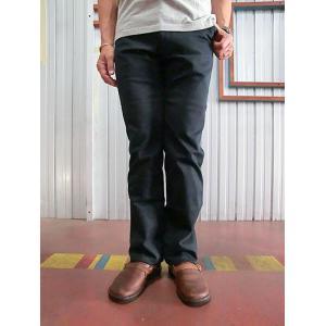 STUDIO ORIBE(スタジオオリベ)  L POCKET PANTS LP01−01 Lポケットストレート ストレッチパンツ チノパンツ NAVY  ネイビー gaku-shop