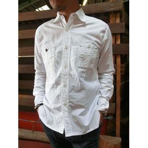 FOB F.O.B(エフオービー) F3193 定番洗いざらしの白シャツならコレ オックス素材 スリムワークシャツ gaku-shop