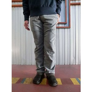 STUDIO ORIBE(スタジオオリベ) RP12 RIB PANTS リブパンツ スウェットパンツのリラックス感とクライミングパンツの実用性を。 秋冬素材 ライトグレー gaku-shop