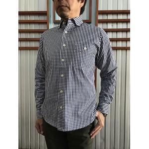 STUDIO ORIBE(スタジオオリベ) DELICIOUS(デリシャス) DS0103 Pujol プジョル  Pujol(プジョル) ギンガムチェック ボタンダウンシャツ|gaku-shop