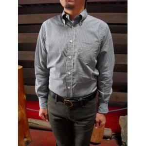 INDIVIDUALIZED SHIRTS(インディビジュアライズドシャツ) T8026 ギンガムチェック ボタンダウンシャツ スタンダードフィット|gaku-shop