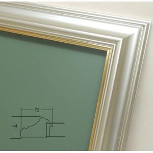 油彩用額縁 3455 F3号 アクリルガラス 額縁 フレーム|gakubutiya