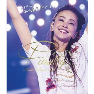 『namie amuro Final Tour 2018 ~Finally~【通常盤】』 安室奈美恵 [Blu-ray Disc]|gakuendo