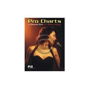 [楽譜] 女性シンガーのオリジナルキーでのプロチャート【10,000円以上送料無料】(Pro Charts in Original Keys for Female Singers)《輸入楽譜》|gakufu-ex