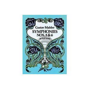 [楽譜] マーラー/交響曲第5番& 第6番《輸入オーケストラスコア》【DM便送料無料】(Symphonies Nos. 5 and 6)《輸入楽譜》