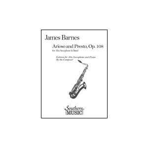 [楽譜] アリオーソとプレスト/バーンズ(オンデマンド出版)【10,000円以上送料無料】(Arioso and Presto, Op. 108(OD)《輸入楽譜》