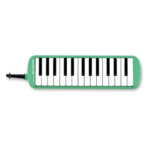 SUZUKI スズキ メロディオン MX-27 パステルグリーン アルト27鍵 f〜g2 鈴木楽器 鍵盤ハーモニカ MX27 Melodion {72032879}の画像
