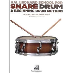 【取寄品】GYW00063195 ハル・レナード スネア・ドラム・スクール:初心者のためのドラム教本/Mattingly編【楽譜】【ネコポスを選択の|gakufushop