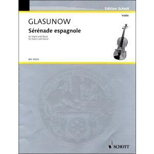 【取寄品】GYS00073884 グラズノフ 「2つの小品」 Op.20より スペイン風セレナード/クライスラー編【楽譜】 gakufushop