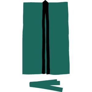 アーテック(Artec)運動会用品 サテンロングハッピ 緑 L(ハチマキ付)  大きさ:660×1100mm  ハチマキ:1700×45mm gakurin