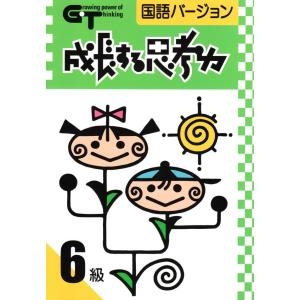成長する思考力GTシリーズ国語6級|gakurin