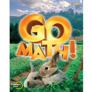 GO MATH Student Edition with Practice Book Grade k