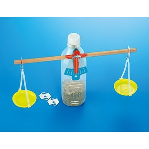 物と重さ基本材料B型(てんびん作り) /理科 科学工作 小学生 理科実験 高学年向け|gakurin
