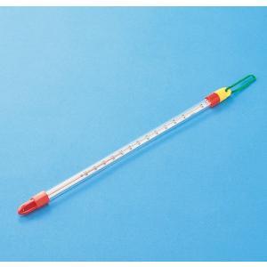 万能型棒温度計A型  サイズ:31.0cm 測定温度:−20℃〜110℃/理科 実験 小学校 自由研究|gakurin